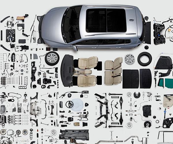 قطعات مختلف خودرو